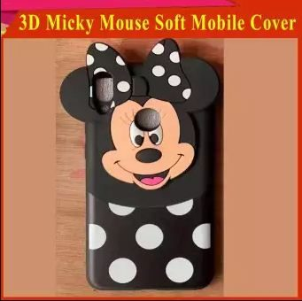 Oppo Realme 3 Pro Mobile Cover For Girls - 3D Rubber Micky Mouse Soft phone cases