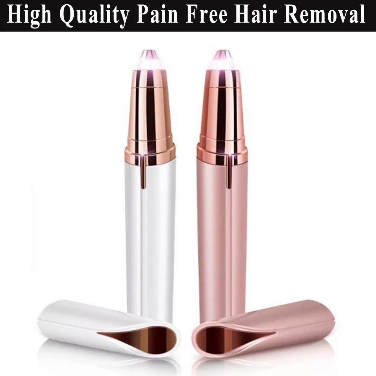 Best Selling Battery Operated Flawlbss Painless Hair Remover