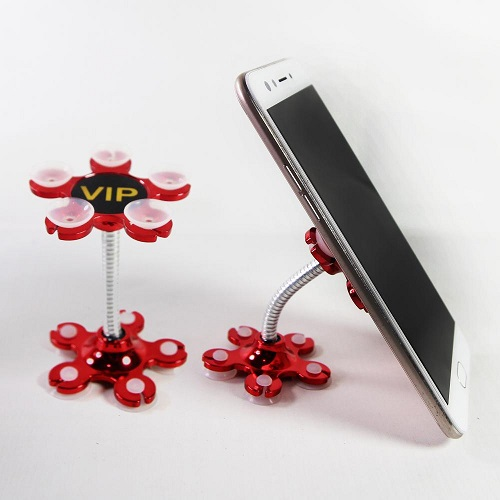 Red Rotatable & Portable Mobile Holder - Magic Car Holder
