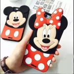 good quality oppo f7 mobile cover for girls 3d rubber micky mouse soft phone cases