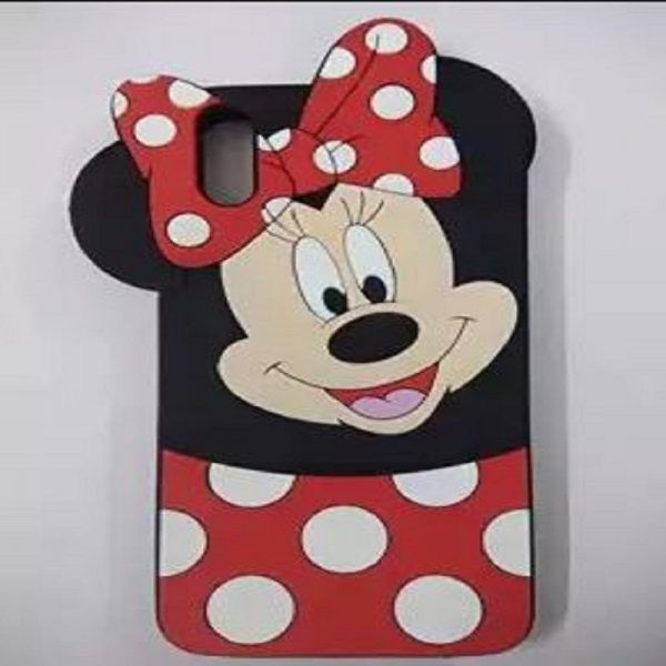 Samsung A50 Mobile Cover For Girls - 3D Rubber Micky Mouse Soft phone cases