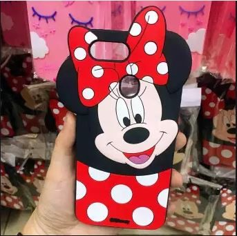 Oppo A5s Mobile Cover For Girls - 3D Rubber Micky Mouse Soft phone cases