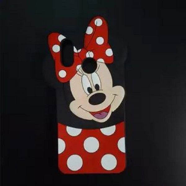 Samsung A30 Mobile Cover For Girls - 3D Rubber Micky Mouse Soft phone cases