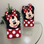 good quality oppo f9 mobile cover for girls 3d rubber micky mouse soft phone cases