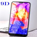 best huawei y7 prime 2019 9d full cover tempered glass screen protector copy