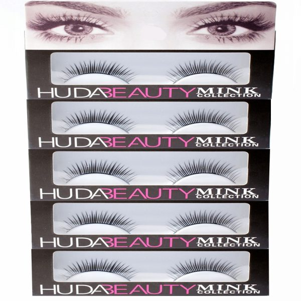 Pack Of 5 Huda-Beauty Long Lasting Eyelashes 008 - 2SD75R