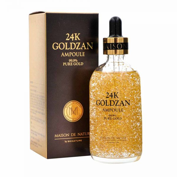24k Goldzan Ampoule Serum for Face Skin Care - 2QG10L