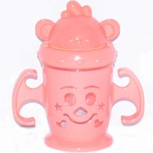 Double Layer Baby Feeding Bottle With Straw BF11-1DH80