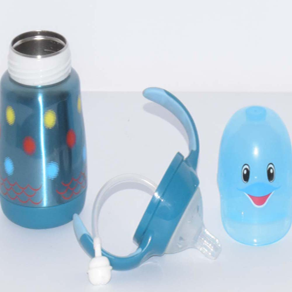 160 ml Dolphin Style Stainless Steel Baby Feeding Bottle BF39-8S20O