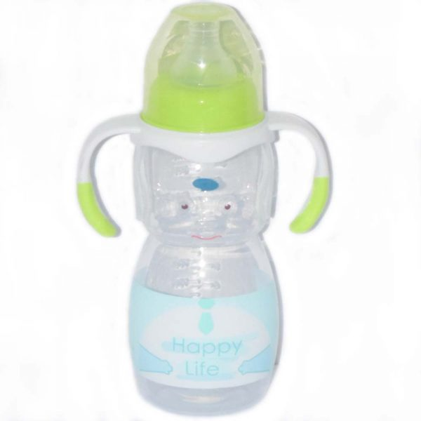 270 ml Best Selling Transparent Baby Feeding Bottle BF6-1H8O0