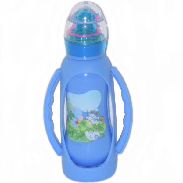 250 ml Beautiful Style Baby Feeding Bottle With Cover BF50-J18S0