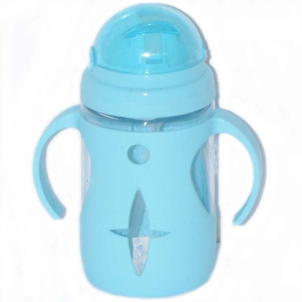 Best Selling Transparent Baby Feeding Bottle With Straw BF14-2I1O0