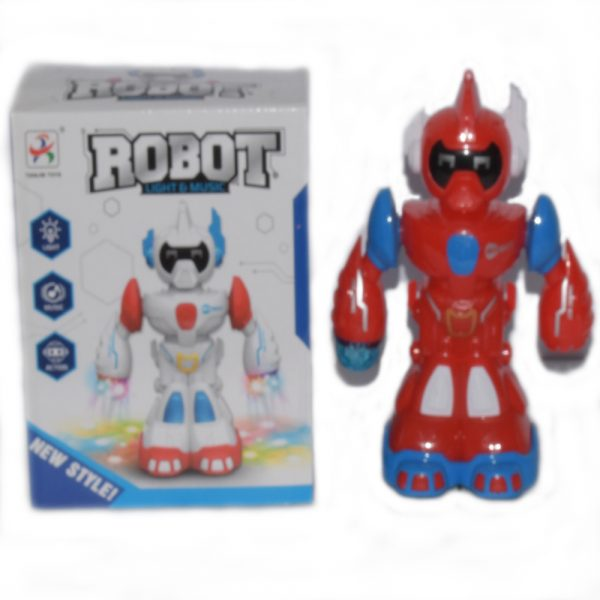 New Style Baby Toys Cute Electric Music Light Dancing Robot-VP540