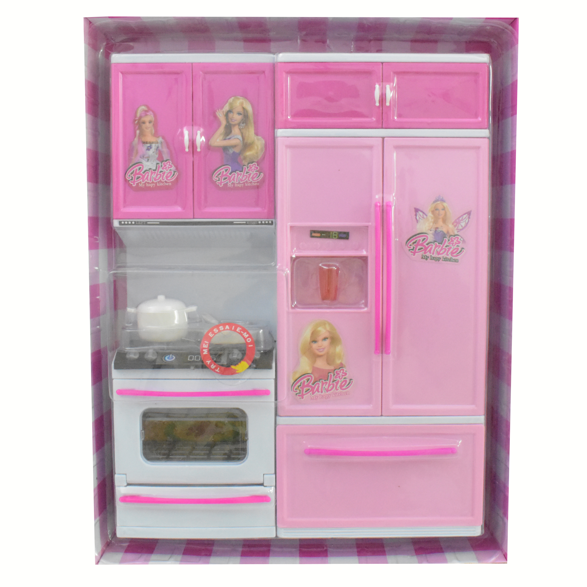 Barbie Modern Kitchen Set Toys For Girls 11s50 Itwarbazar Pk