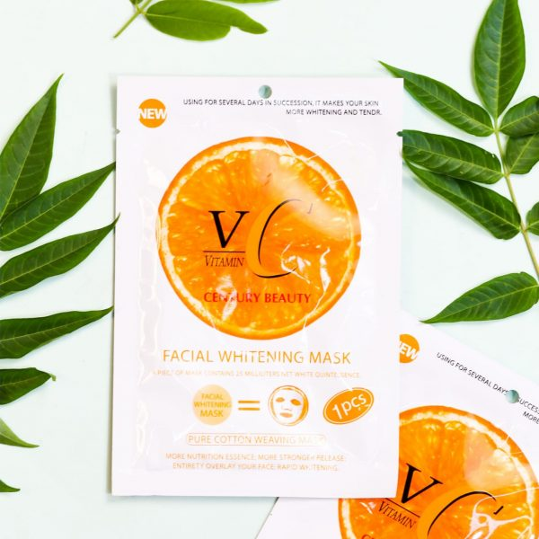 Century Beauty Vitamin C Facial Whitening Mask 1 pcs